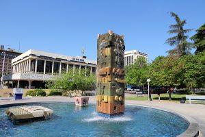 Fresno, United States - Park In Fresno, Californ