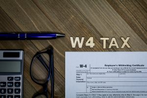 Backup withholding tax